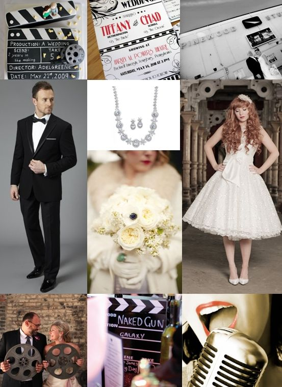 Retro Movie Inspired Wedding Ideas - Moody Monday - The Wedding Community Blog