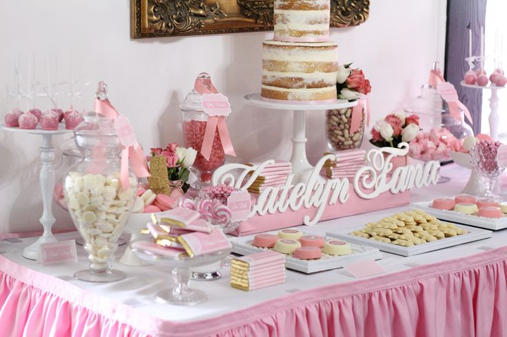 Katelyn's Christening & 1st Birthday celebrated in style!
