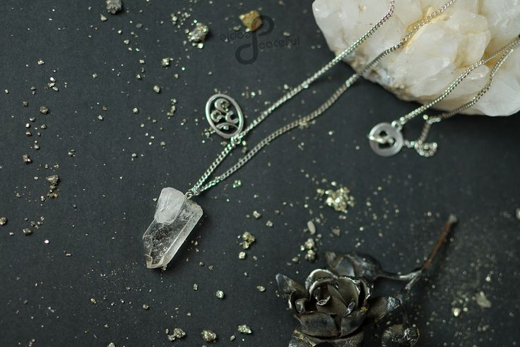 Natural Raw Crystal Quartz  Peaceful People Handmade Jewellery