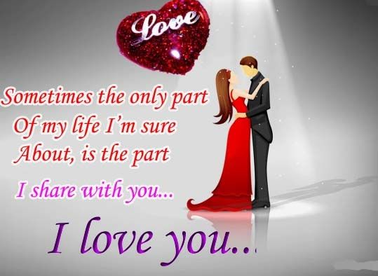 Love gives happiness. Share this happiness with the person you immensely Love with this romantic Ecard. www.123greetings.com
