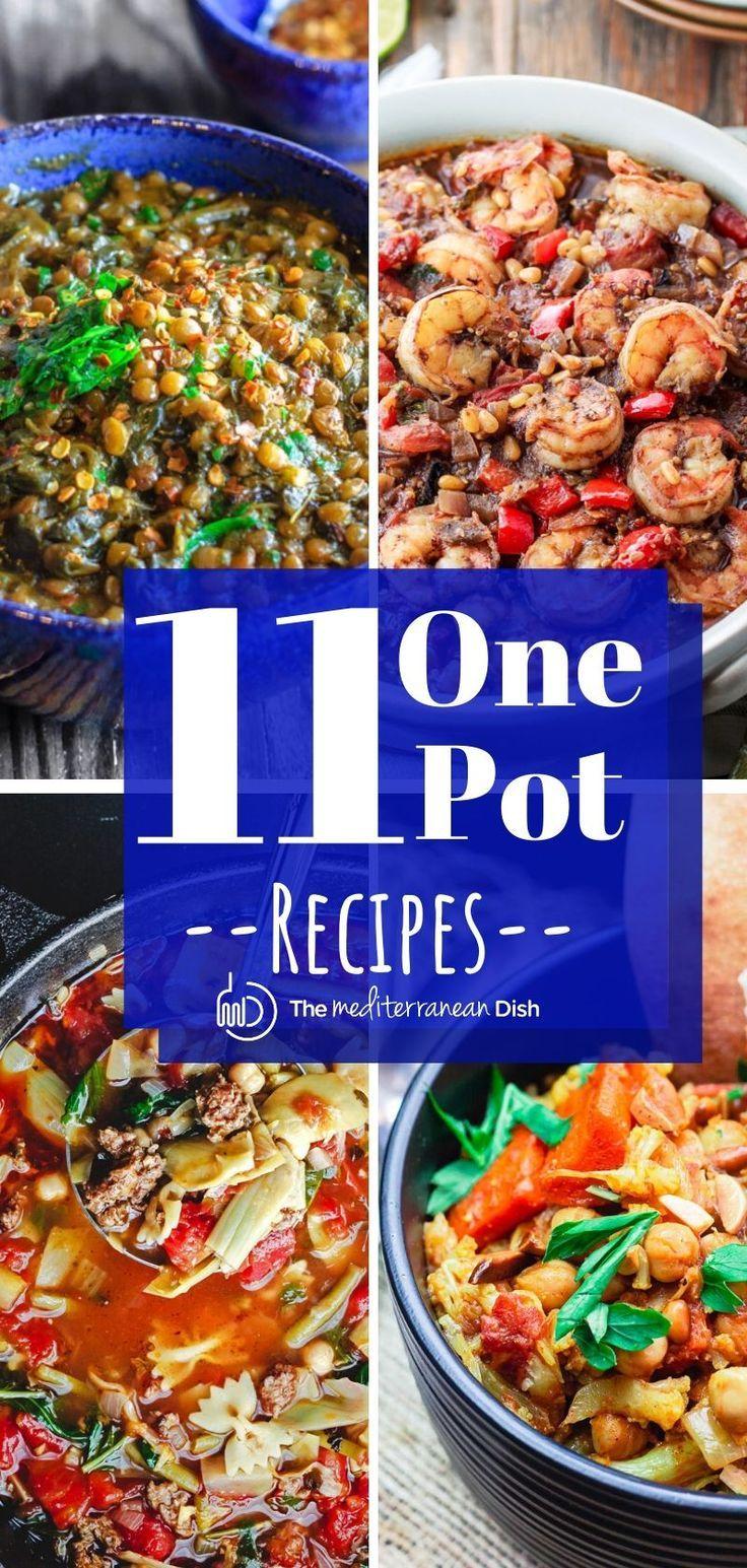 Best One Pot Recipes Recipes Mediterranean Recipes One Pot Meals