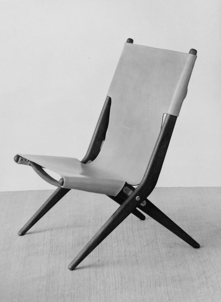 The original prototype of Saxe, Mogens Lassens chair from 1955 - originally made for the Cabinetmakers Guild.