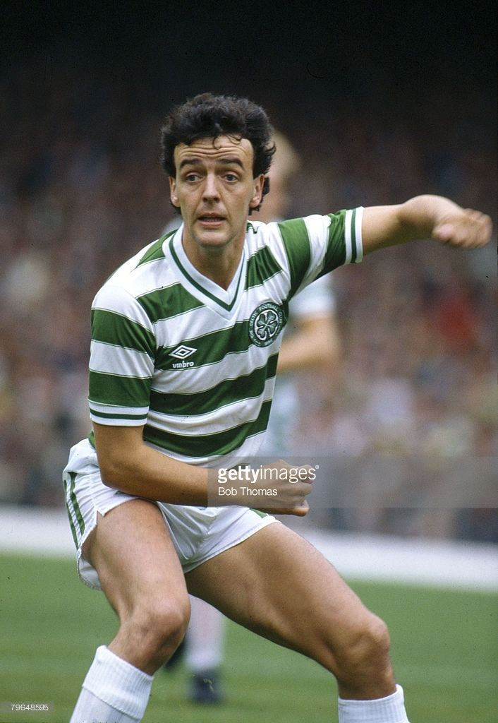 August 1984 Scottish Premier Division Frank McGarvey Celtic striker... News Photo | Getty Images