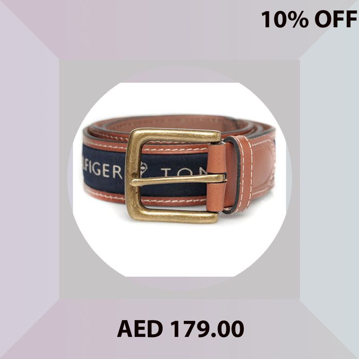 Tommy Hilfiger Men's Belt-11TL02X032-Navy / Blue Size 40 Inches #TommyHilfiger #Belts #mens #fashion #leather #accessories #online #shopping #menakart