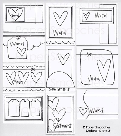 Paper Smooches: Designer Drafts 3