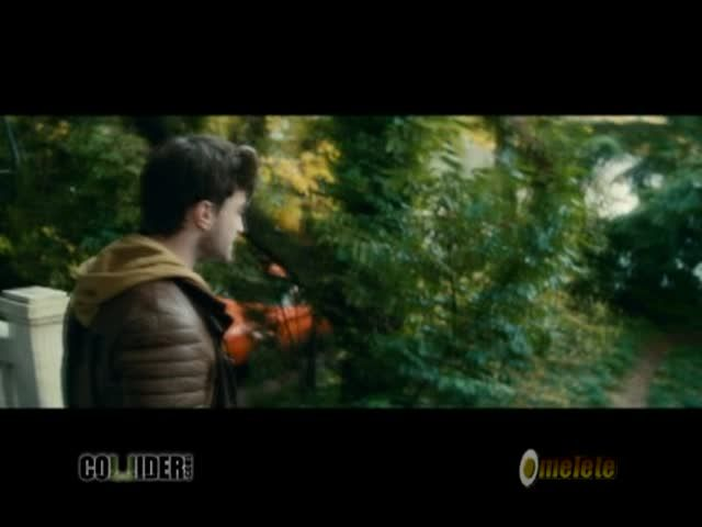 "Clip from Daniel Radcliffe's new movie ""Horns"" based on the book by Joe Hill *fan girl squee!!!*  And can I just say, he's got a nice American accent.  Not bad at all. :)"