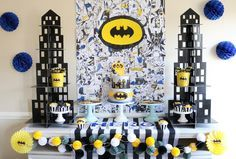 epic batman birthday party