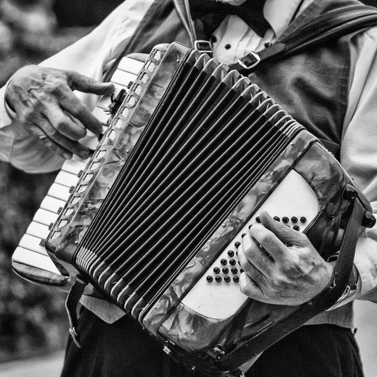 An accordionist plays his instrument at Addison Oktoberfest, Addison, Texas. #oktoberfest #music See more photos at 75central.com