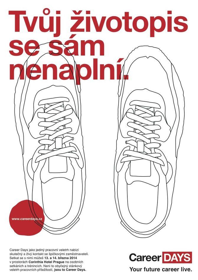 Career Days Campaign Step #1 design: Štěpán Klíma