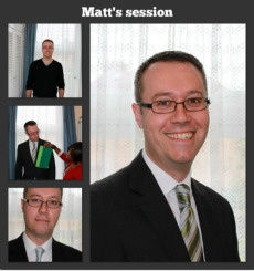 Matt: Before & After.  Matt wanted to move from a casual creative work environment to a more corporate environment and wanted to get his look just right.  He got the look, and that job!  ... And a year on, what he learnt helped him find a stylish outfit for his sisters wedding.  Image consultation is not just for the girls!