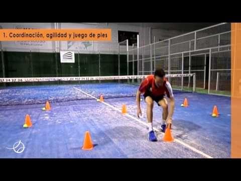PÁDEL - JUEGO DE PIES - ESCALERAS DE COORDINACIÓN 03 - 10 ejercicios - YouTube