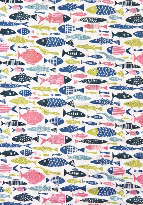 Retro Fish Towel by Lotta Glave (via design*sponge http://www.designspongeonline.com/2011/04/weekly-wrap-up-58.html)