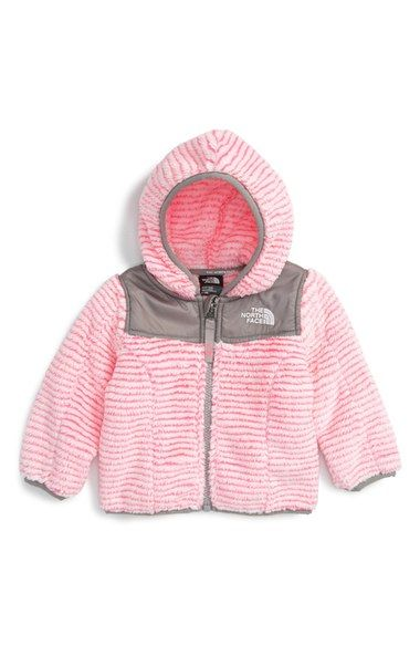 The North Face 'Oso' Fleece Hooded Jacket (Baby Girls) (Regular Retail Price: $65.00) available at #Nordstrom