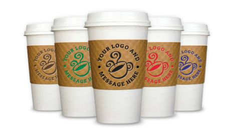 printed coffee cup sleeves | printed coffee cup sleeves