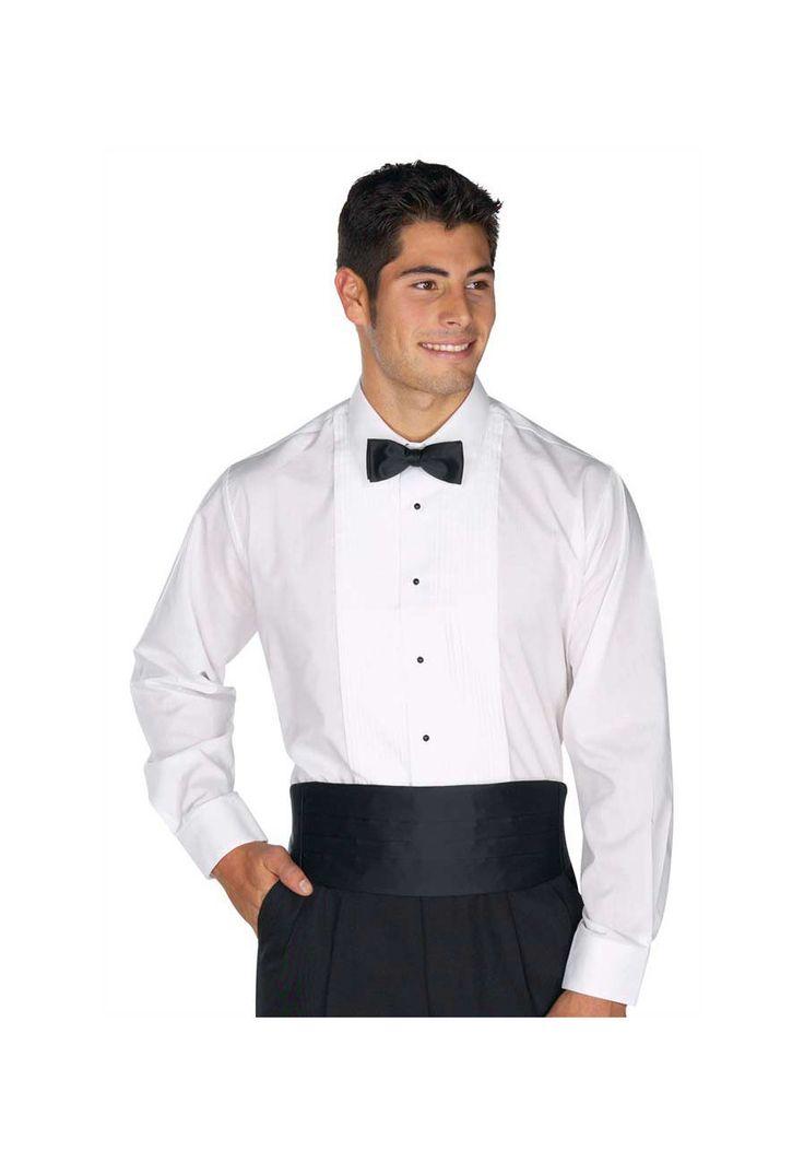 #nursinguniforms #medicalscrubs Henry Segal Men's Tuxedo Shirt - White - 3X/37: This tuxedo shirt features a laydown… #uniforms #scrubs