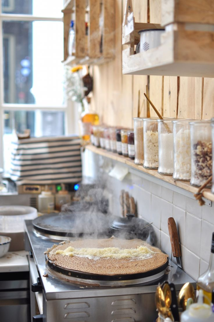 Beautiful new Crêperie Hotspot in Amsterdam