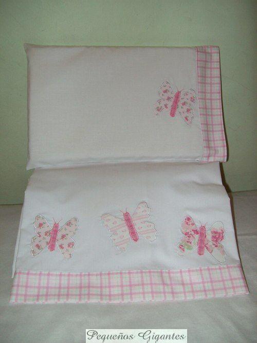 Delicados juegos de sábana para catre, cuna y cuna funcional,confeccionados en per...
