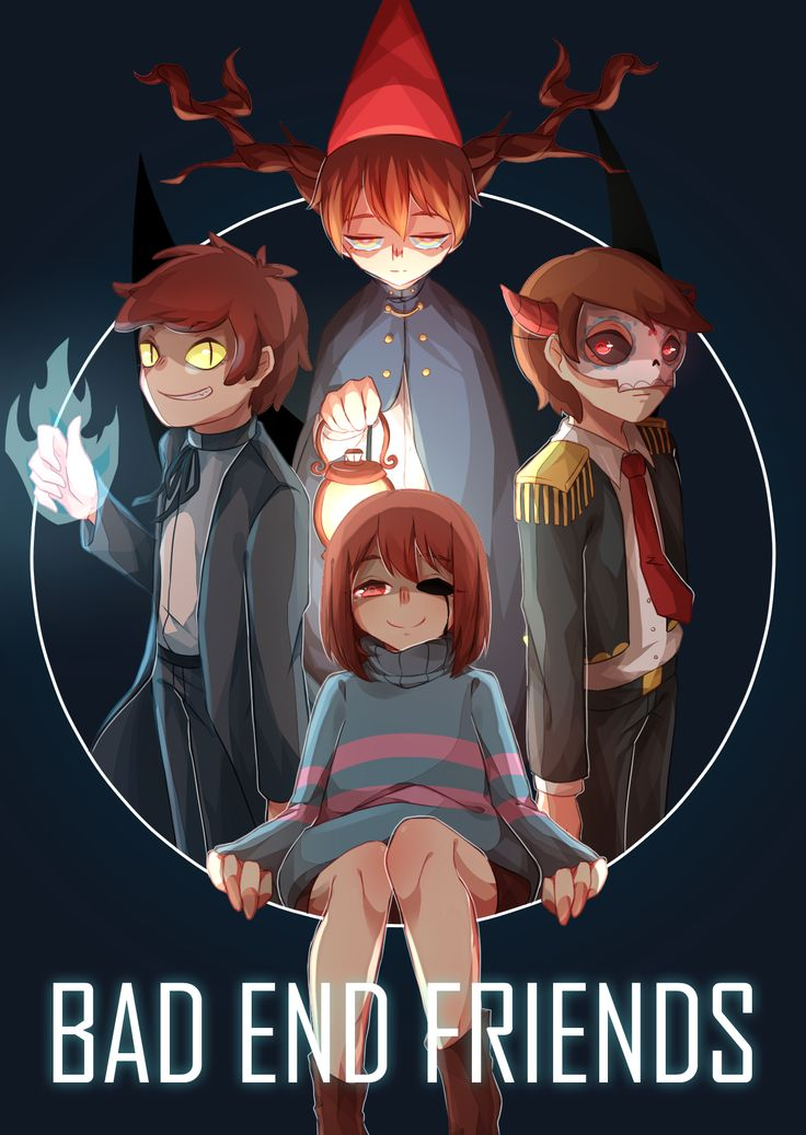 Bad end friends by ICE認親卡