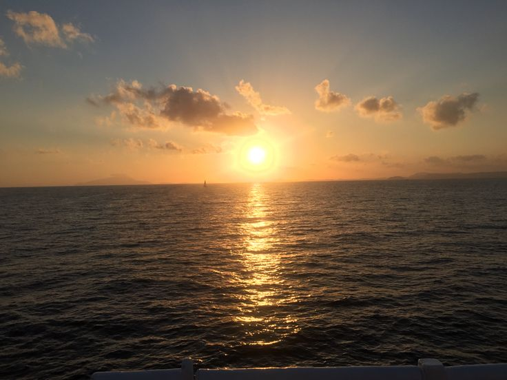 There exists nothing compare a Capri sunset in August 2015!
