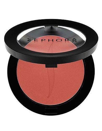 Sephora Blush in Healthy Rose 09. Such a pretty color and good pigmentation.