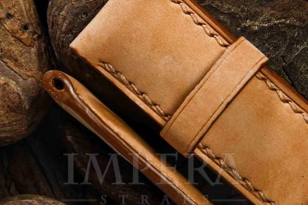 Panerai Brown Leather Watch Strap,https://www.imperastraps.com