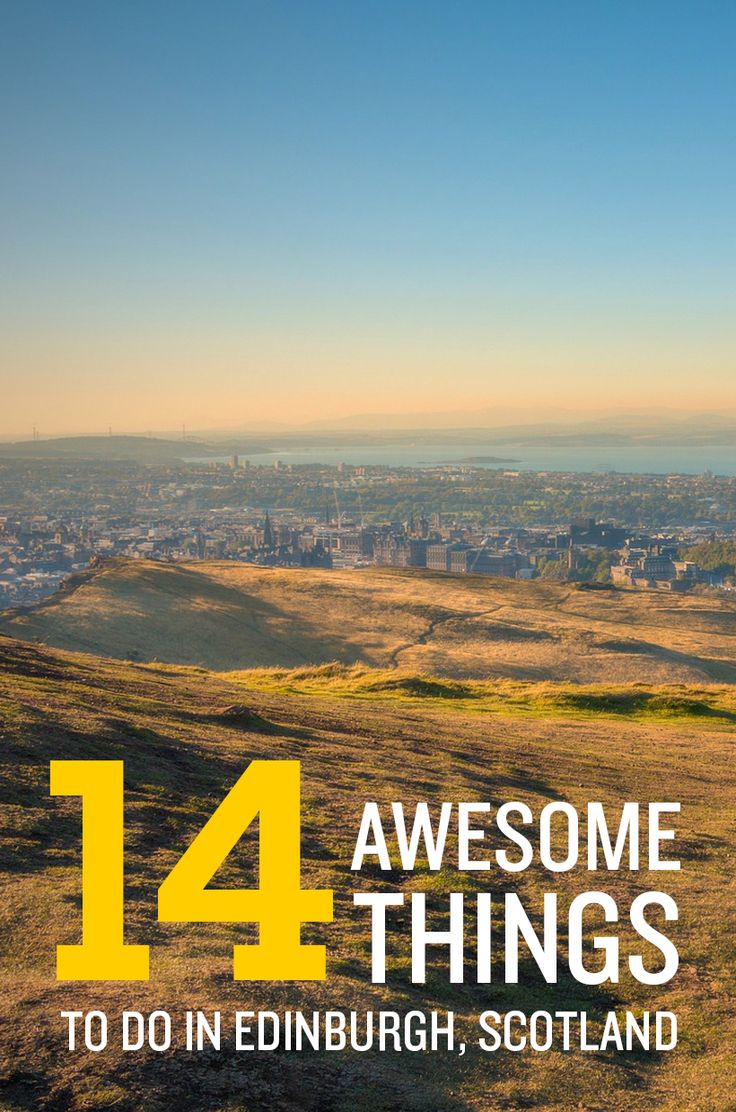 Looking for things to do in Edinburgh, Scotland? Here are some of our must-dos!