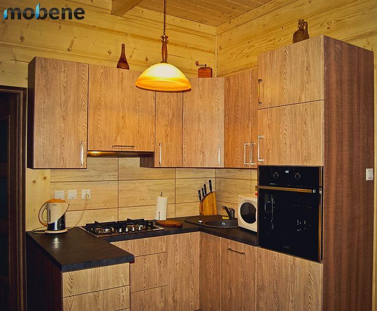 meble kuchenne wykonane na zamwienie kolor wierk tatrzaski wyposaenie firma gorenje gorenje - Meble Aboua Closer