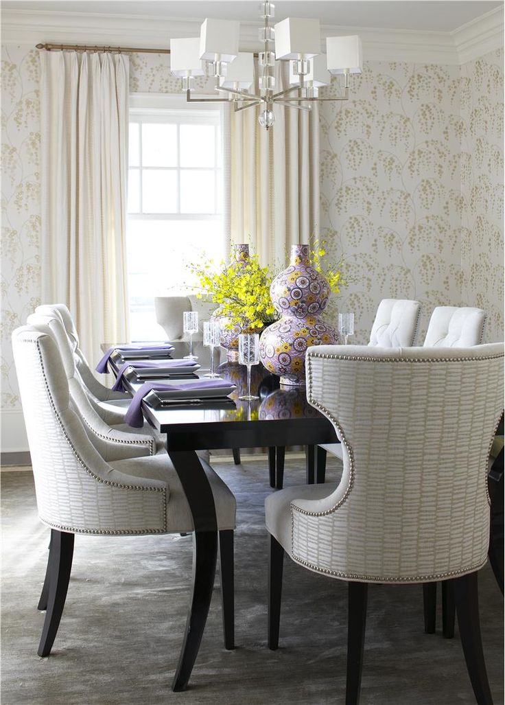 Comfortable Dining Room. Contemporary Dining RoomsContemporary ...