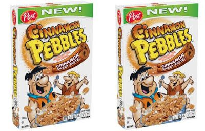 Post's Cinnamon Pebbles Cereal