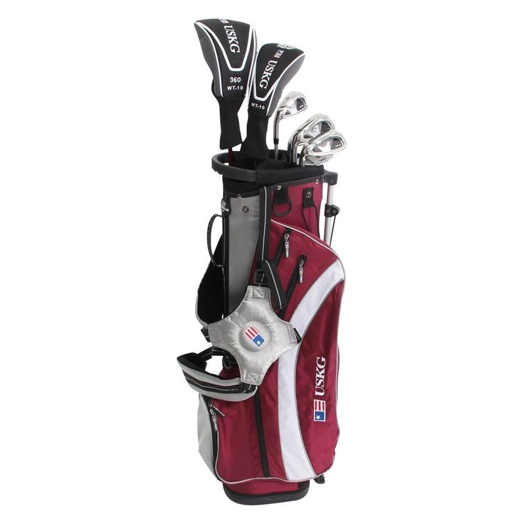 US Kids Golf UltraLight UL 60 7 Club Set with Stand Bag - Golf Clubs - Puetz Golf