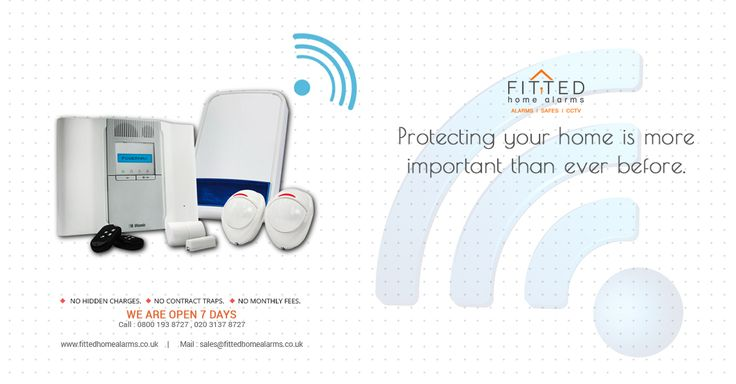 Wireless burglar alarms operate differently from their hard-wired counterparts in that the component parts (control panel, sensors and alarm) communicate via radio signals, rather than electrical wired connection across the whole system.  Read More : www.fittedhomealarms.co.uk/blog/2014/11/14/wireless-burglar-alarms-more-information/ Phone : 0800 193 8727 Email : sales@fittedhomealarms.co.uk Website:www.fittedhomealarms.co.uk