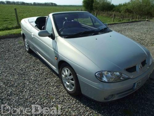 03 Renault Megane Cabriolet