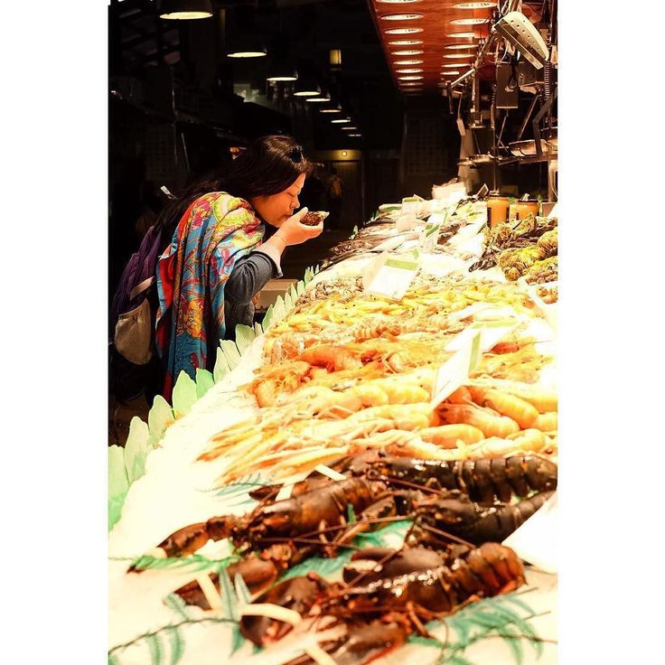 Thank you @ninamoto for sharing this great photo from La Boqueria Food Market in Barcelona with us by appetiteandotherstories