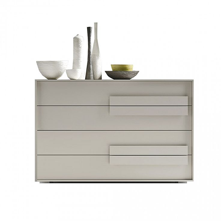 Modern chest of drawers 'So-Trend' by Siluetto