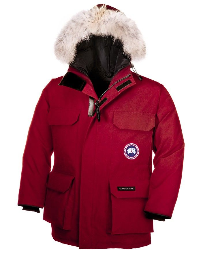 2013 Discounts Youth Canada Goose Expedition Parka Red