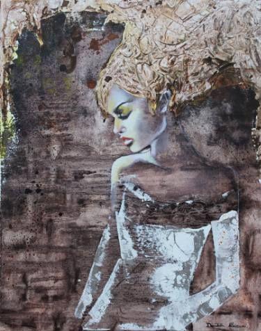 "Saatchi Art Artist Donatella Marraoni; Painting, ""Wake me up"" #art"