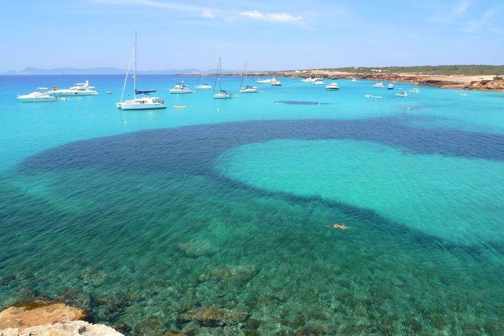 Sur l'île de #Formentera, au large d'#Ibiza. #Baléares #Espagne