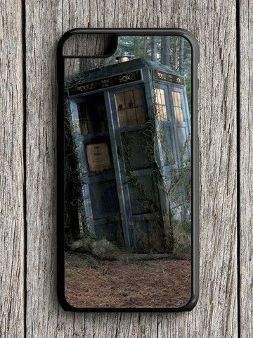 Abandoned Tardis Doctor Who iPhone 6 Case
