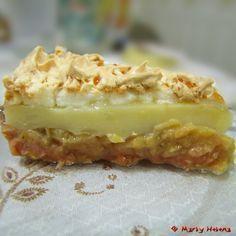 Torta de bananas Mais