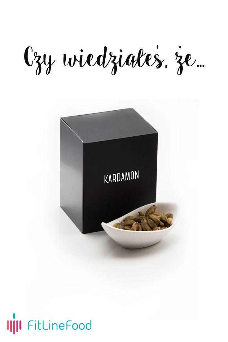 Czy wiedziałeś, że kardamon pobudza apetyt? / Did you know, that cardamom arouses the appetite? www.fitlinefood.com