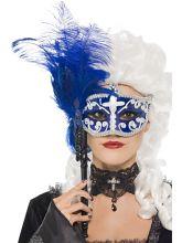 Eleganta pentru un #balmascat.  #eyemask  #fabricademagie