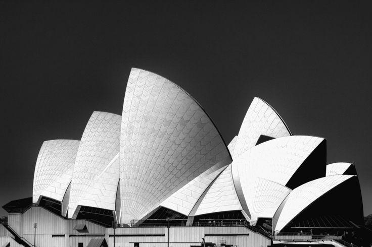 Sydney Opera House - Art Print | Australia | Black and White | Photography