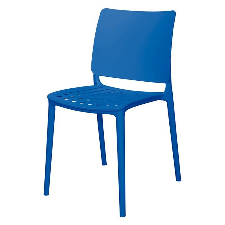 Source Contract Marcay Patio Dining Side Chair - SC-2604-162-BLU