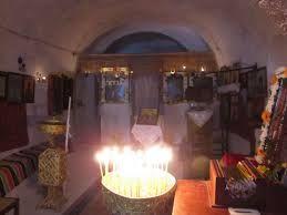 Den skjulte kirke på Santorini