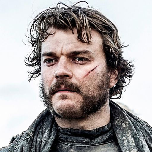Euron Greyjoy (Pilou Asbæk). I'm missing the eye-patch! I was kinda looking forward to the eye-patch. Hold onto your dragons, Khaleesi... ASOIAF. Game of Thrones