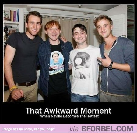 Neville Longbottom- Master Of The Puberty Spell