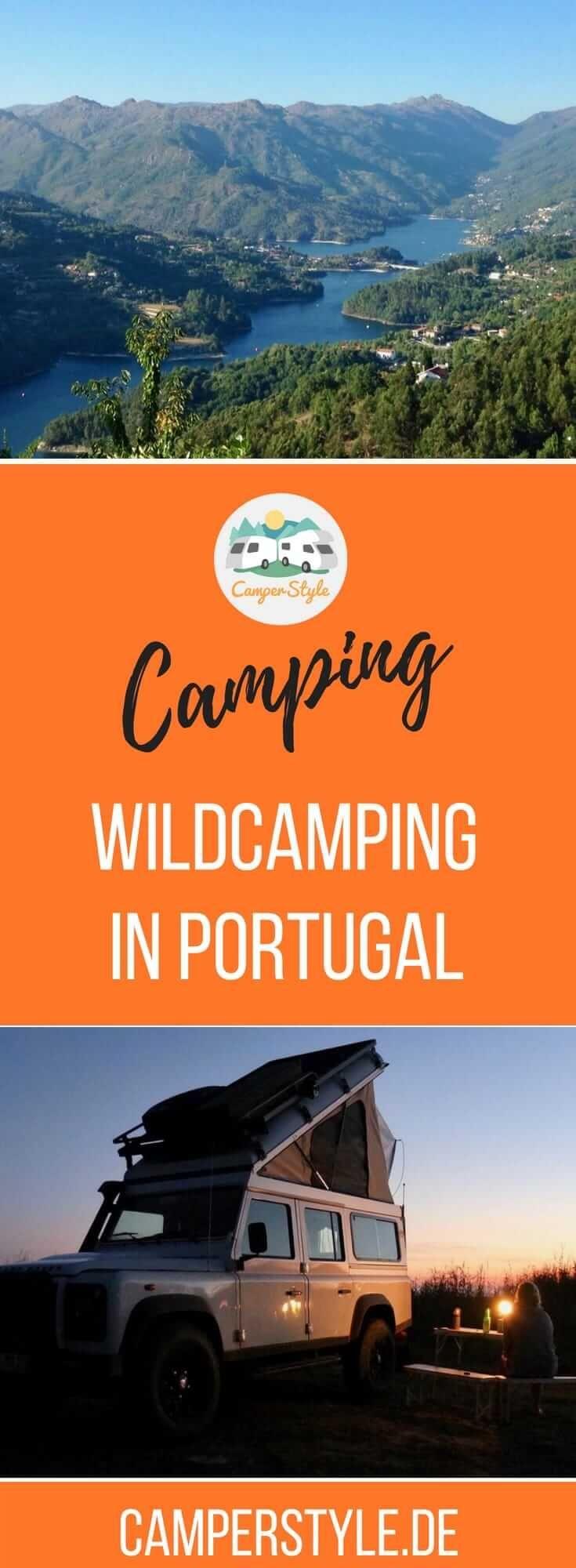 Wildcamping in Portugal – Regeln und Tipps für einen gelungenen Urlaub