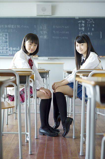 Haruka Kudō (工藤 遥) & Riho Sayashi (鞘師里保) | Flickr - Photo Sharing!