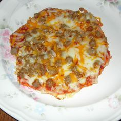School Cafeteria Fiestada Pizza