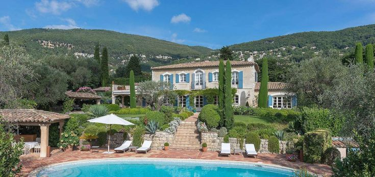 Luxury  Villa in Grasse, Cannes, Cote dAzure!  Magnificent villa set in stunning landscaped gardens, with olive grove, pool etc.  Timelessly elegant.  Can you guess the price of this fabulous villa?  1,000,000 - 2,000,000 2,000,000 - 3,000,000 4,000,000 - 5,000,000